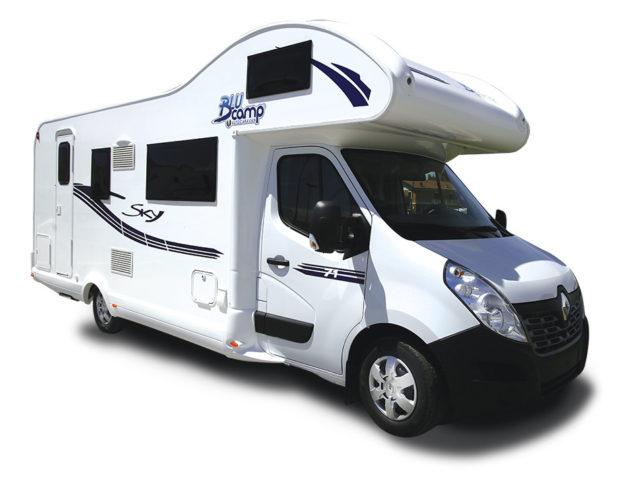 Autocaravana de alquiler Blucamp Sky 71