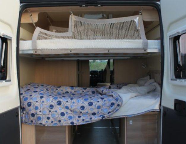 Furgoneta camper de alquiler Blucamp Optimist 100 Max