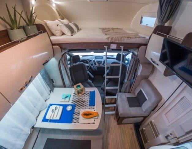 Autocaravana de alquiler Benimar Sport 340 UP
