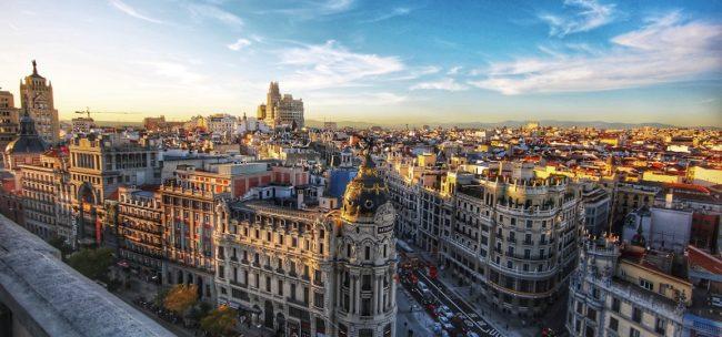 Alquiler furgonetas camper Madrid