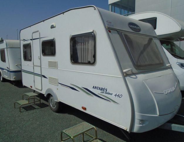 Caravana de segunda mano Caravelair Antares Luxe 440