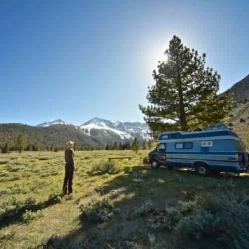 Dónde parar y pernoctar con una autocaravana camper o caravana