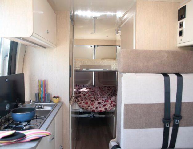 Furgoneta camper nueva Blucamp Optimist 100 Max