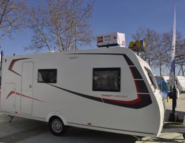 Caravana nueva Sterckeman Starlett 490 PE Kids