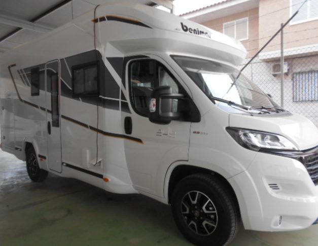 Autocaravana nueva Benimar Mileo 242