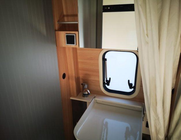 Furgoneta camper de segunda mano Bürstner City Car C601