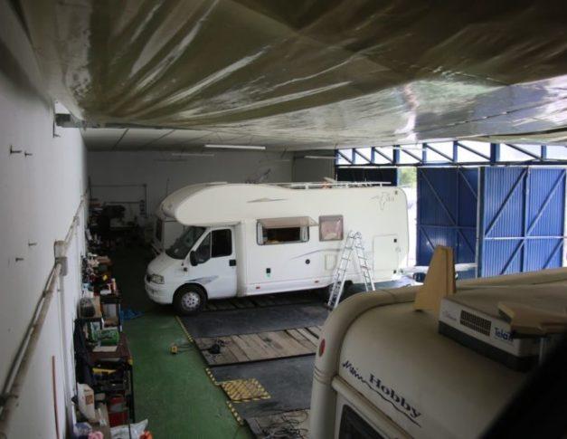Taller para caravanas autocaravanas y furgonetas campers en Alcorcón