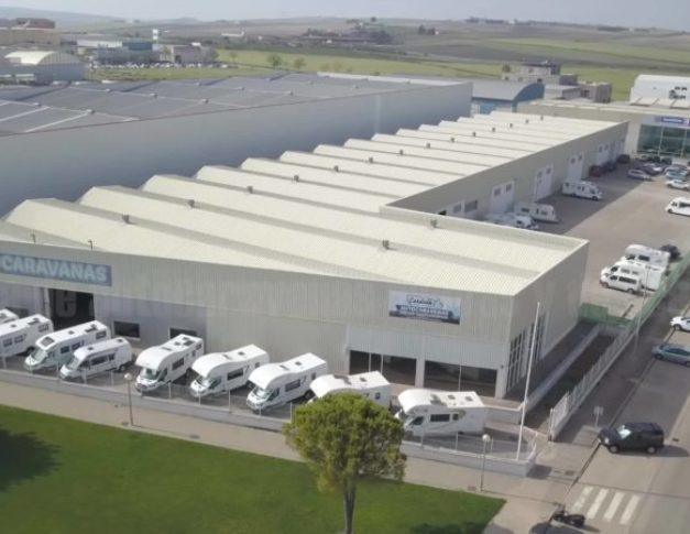 Área de servicio para autocaravanas en Jerez