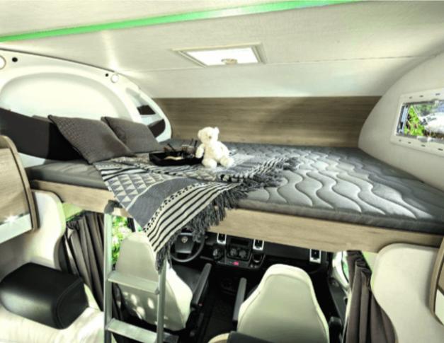 Autocaravana de alquiler Challenger Genesis C256