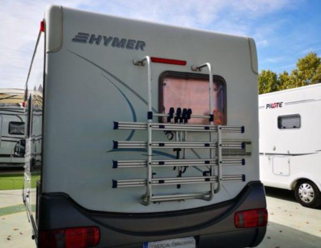 Autocaravana de segunda mano Hymer C 544 K