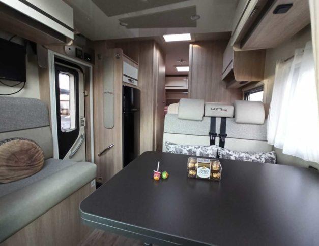 Autocaravana de alquiler GiottiLine Siena 390
