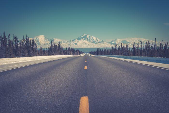viajar en invierno con una autocaravana