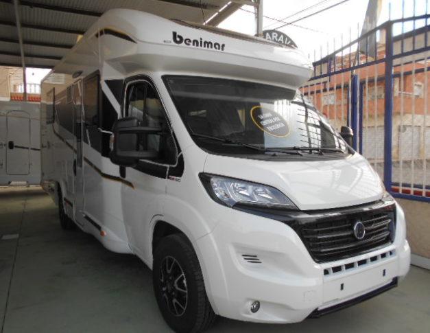 Autocaravana nueva Benimar Mileo296