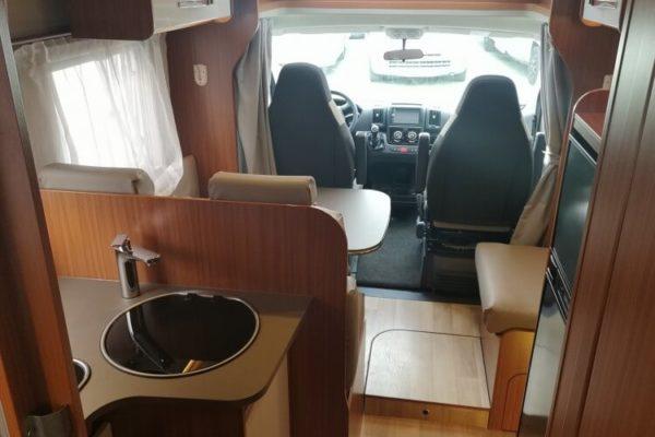 Autocaravana de segunda mano Etrvsco T 7400 SB