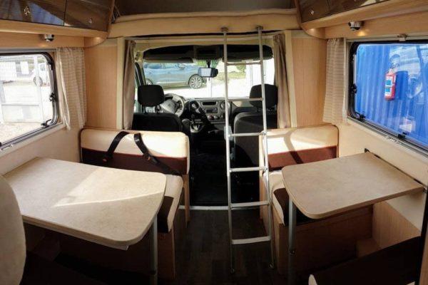Autocaravana de alquiler Blucamp Sky71