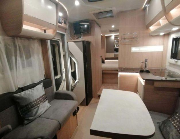 Autocaravana de alquiler Itineo RC 740