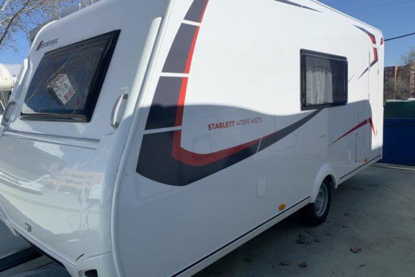 Caravana nueva Sterckeman Starlett Confort 470 PE Kid's