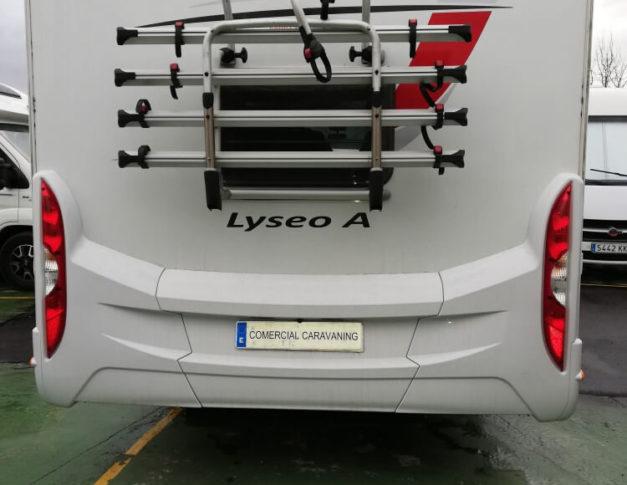 Autocaravana de segunda mano Bürstner Lyseo Time A 660