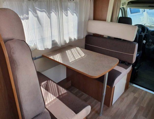 Autocaravana de alquiler Rimor Kayak7