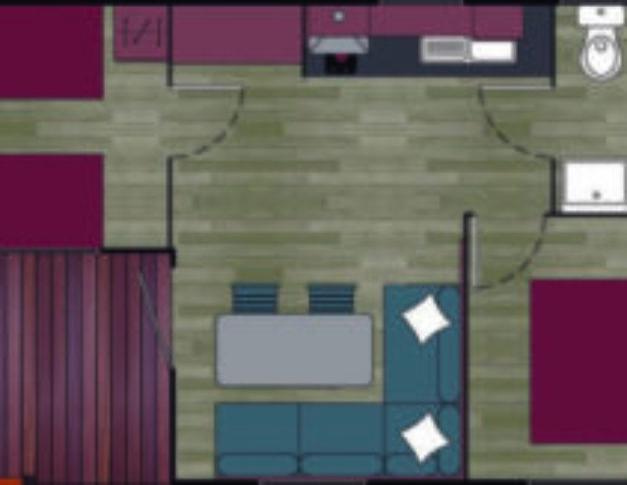Casa móvil nueva Living