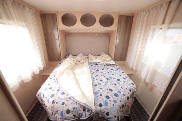 Autocaravanas con cama en isla Mundovan
