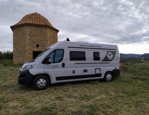 Furgoneta camper alquiler Benimar Benivan 116UP