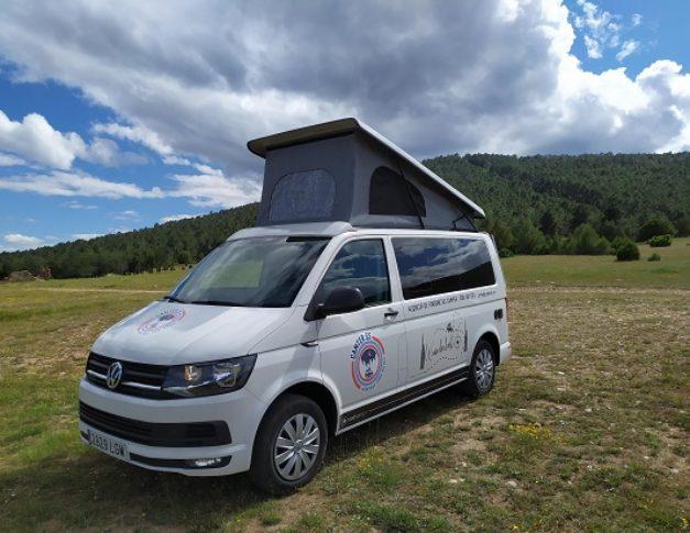 Furgoneta camper de alquiler Volkswagen T6California