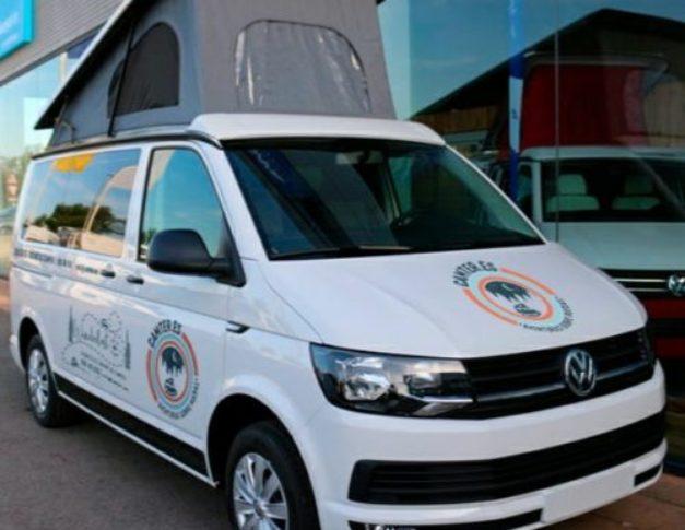 Furgoneta camper de alquiler Volkswagen T6California en Valencia