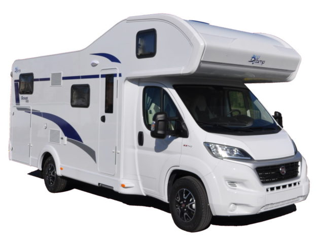 Autocaravana nueva Blucamp Ocean650