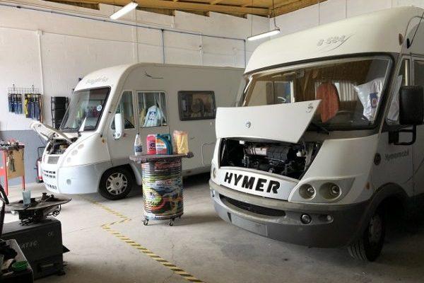 Taller de autocaravanas, caravanas y furgonetas camper en Córdoba