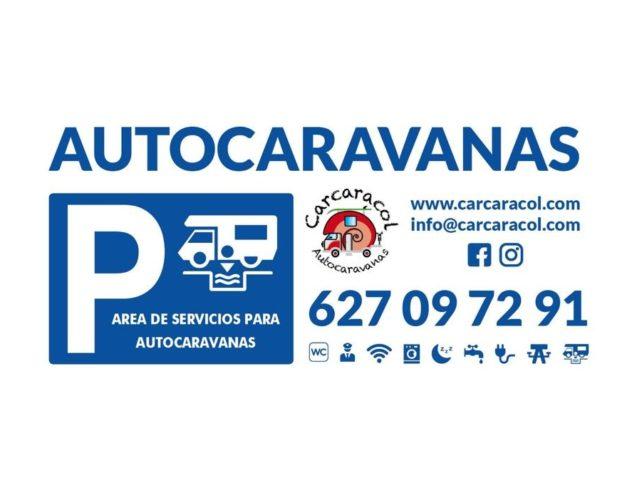 Área de servicios para autocaravanas en Alcalá de Guadaira
