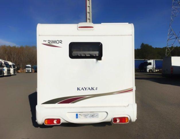 Autocaravana de segunda mano Rimor Kayak 5 cambio automático