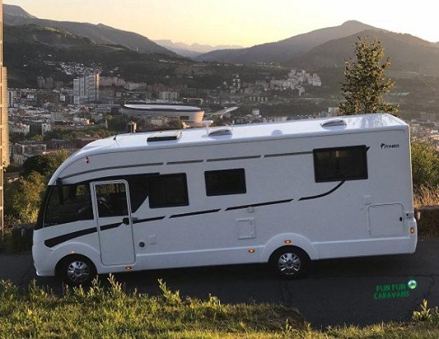 Autocaravana de alquiler Itineo MC740