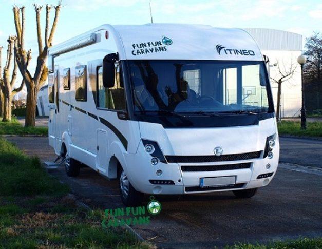 Autocaravana de alquiler Itineo SB 700 exterior