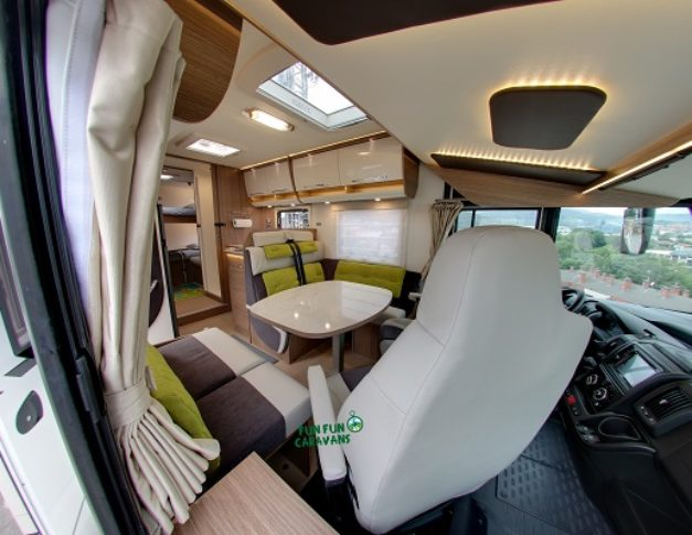Autocaravana de alquiler Itineo SB740