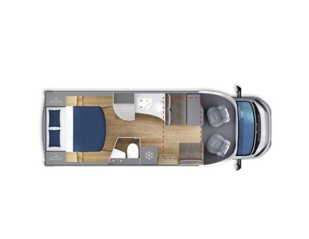 Autocaravana de alquiler GiottiLine Siena390
