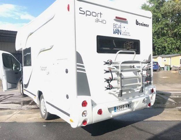 Autocaravana de alquiler Benimar Sport340UP