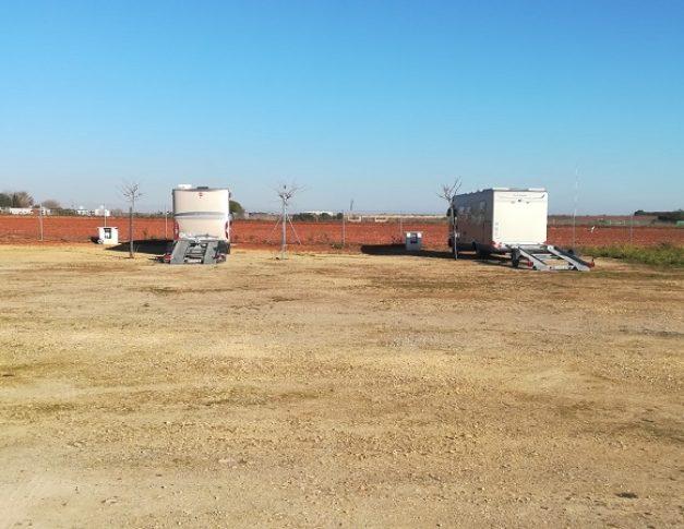 Área de servicios para autocaravanas en Dos Hermanas