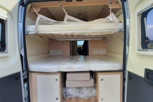 Furgoneta camper de alquiler Blucamp Optimist 100Max