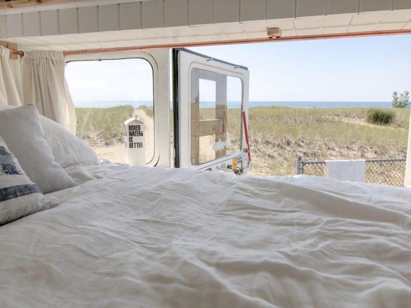 Áreas de autocaravanas en la playa