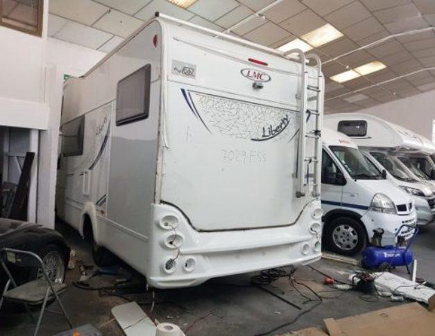 Taller de autocaravanas, caravanas y furgonetas camper en Humanes de Madrid