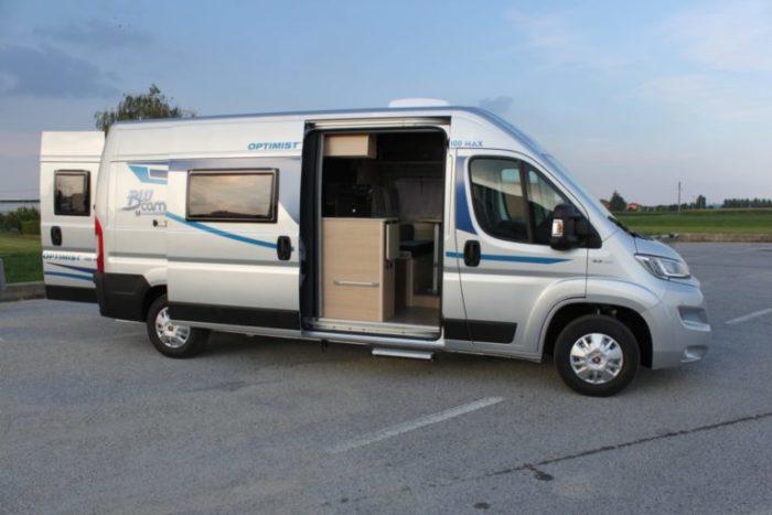 Alquiler de furgonetas camper en Granada