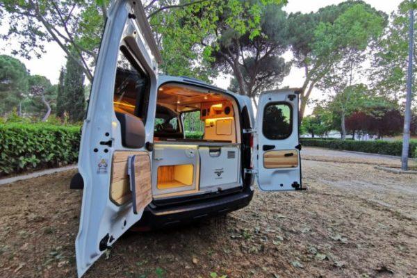 Furgoneta camperizada nueva Dacia Dokker