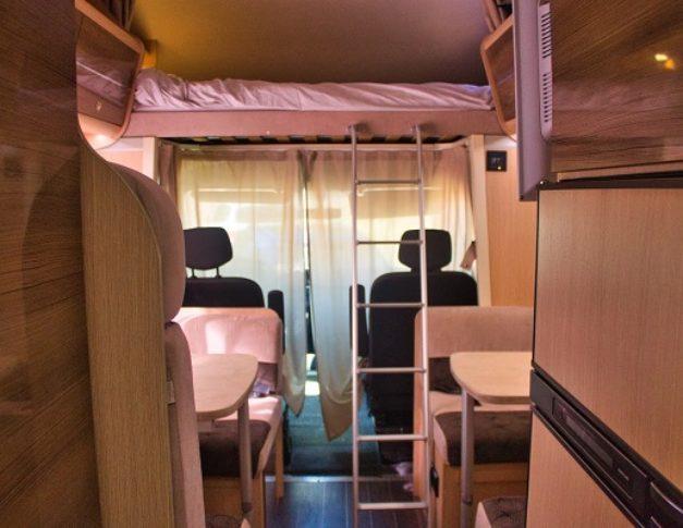 Autocaravana de alquiler Blucamp hasta 7 personas