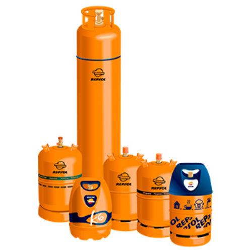Clases de bombonas de gas para la furgoneta camper caravana o autocaravana