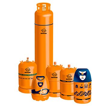 Bombonas de gas para la furgoneta camper, caravana o autocaravana