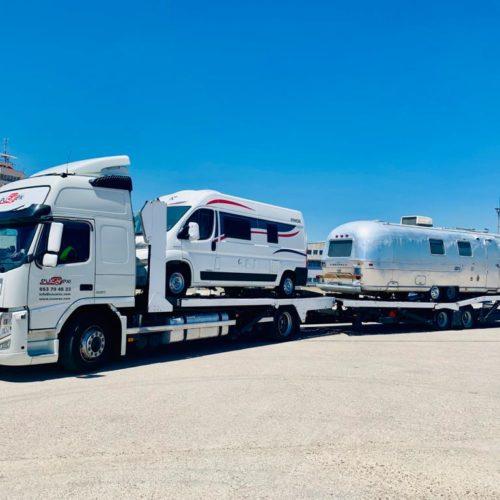 Eucarex: solución de transporte para tus caravanas, autocaravanas y furgonetas camper