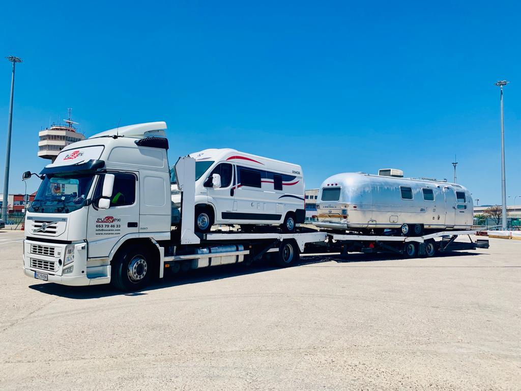 eucarex empresa transporte autocaravanas
