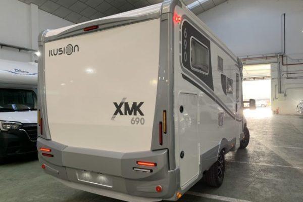 Autocaravana nueva Ilusion XMK 690