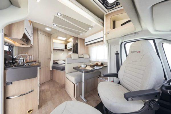 Autocaravana de alquiler Giottiline Siena330